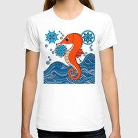 seahorse T-shirts featuring Seahorse by tamaradeborah