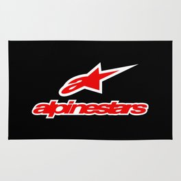 Alpinestars logo Rug