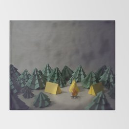 camp Throw Blanket
