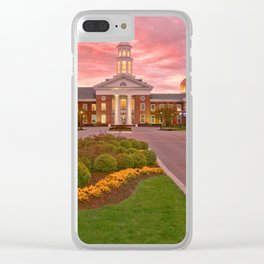 Trible Library CNU at Sunset Clear iPhone Case