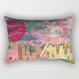Io's Jovian Dawn Rectangular Pillow