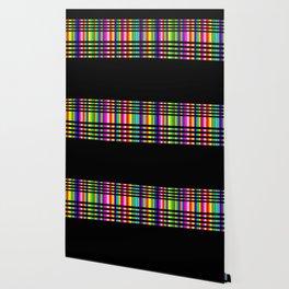 Neon Tartan Wallpaper