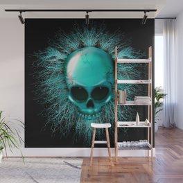 Ghost Skull Wall Mural