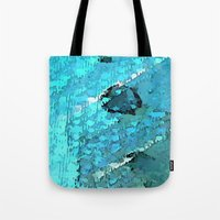 voyage Tote Bags featuring Voyage by Paul Kimble
