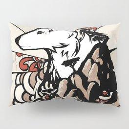 Wolf Ukiyo-e Pillow Sham