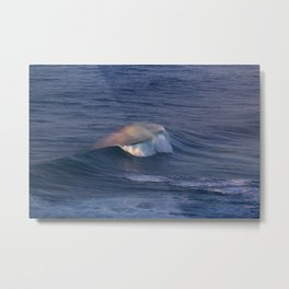 Rainbow at sea Metal Print