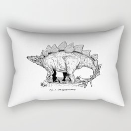 Figure One: Stegosaurus Rectangular Pillow