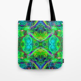 Techno Electric III (Ultraviolet) Tote Bag