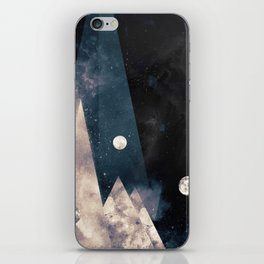 Escape, from planet earth iPhone Skin