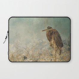 North Carolina Heron Laptop Sleeve