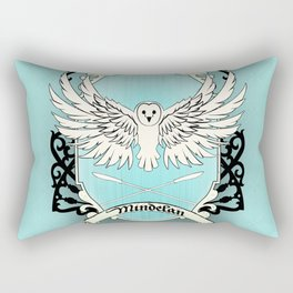 Mindelan Crest Rectangular Pillow