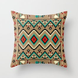 Askook Mukki Throw Pillow