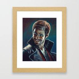 Captain Killian Jones Framed Art Print