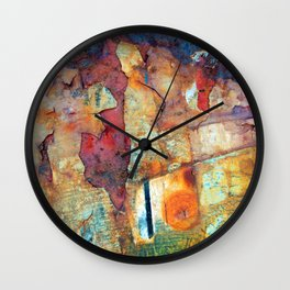 In Another Land Wall Clock