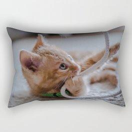 Playtime for Leo Mar Suerte Rectangular Pillow