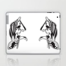 The knight - Emilie Record Laptop & iPad Skin