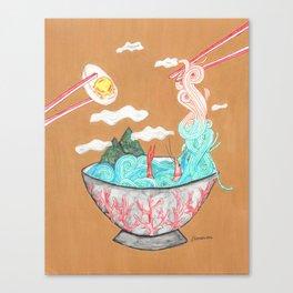 Sea Salt Ramen Canvas Print