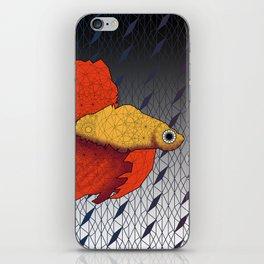Beta Fish - Panel A iPhone Skin