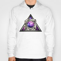 astronaut Hoodies featuring Astronaut by Pancho the Macho