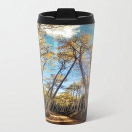 : aspens a glow : Metal Travel Mug