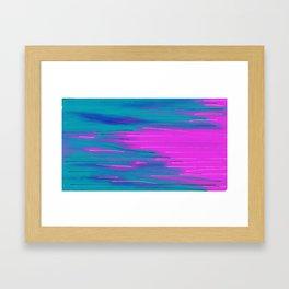 Striped Candy Framed Art Print
