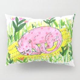 Sleeping Beauty - Pink Leopard Pillow Sham