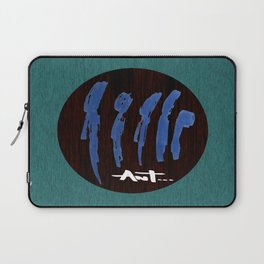 peoples are abstract Laptop Sleeve