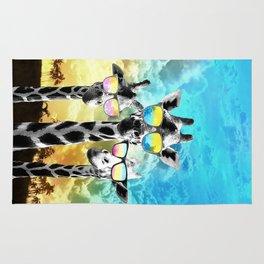 Crazy Cool Giraffe Rug
