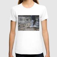 converse T-shirts featuring Converse by AJ Calhoun