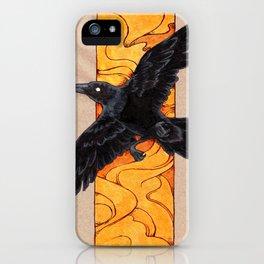 Crow 1 iPhone Case
