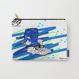 Mr.ShoeLock (blue) Carry-All Pouch