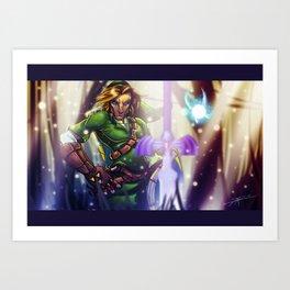 The Hero of Time... Art Print