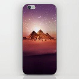 Station Pyramid iPhone Skin