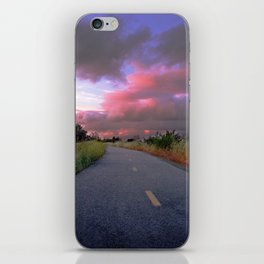 The Road to Nowhere iPhone Skin
