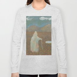 Witch Went for a Walk and Found Something She Couldn't Explain Long Sleeve T-shirt
