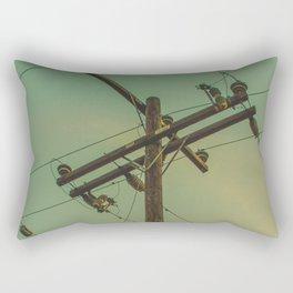 ElectricPole_0001 Rectangular Pillow