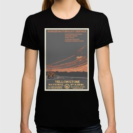 National Parks 2050: Yellowstone T-shirt