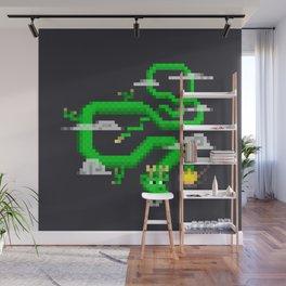 Pixel Celestial Dragon Wall Mural