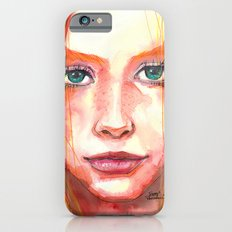Portrait - RedHair & Freckles Slim Case iPhone 6s