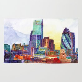 Sunshine in London Rug