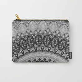 Black and White Mandala design Carry-All Pouch
