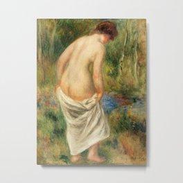 Pierre-Auguste Renoir - After the Bath Metal Print