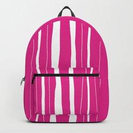 Vertical Living Hot Pink Backpack