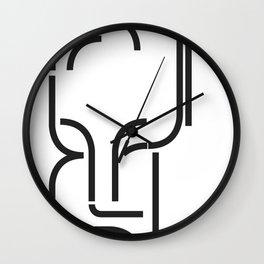 Mime Wall Clock