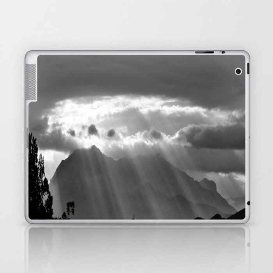 Rays From The Sky Laptop & iPad Skin