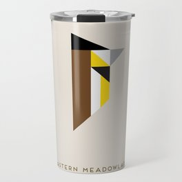 Eastern Meadowlark Travel Mug