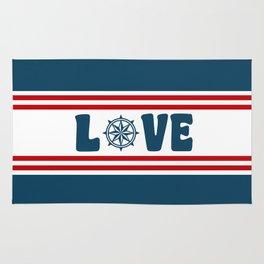 Love compass Rug