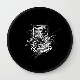 Romance May Fade Wall Clock