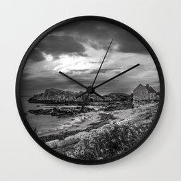 Balintoy Harbour, Ireland Wall Clock