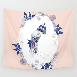 Magpie Bird Wall Tapestry